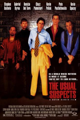 The Usual Suspects Masterprint