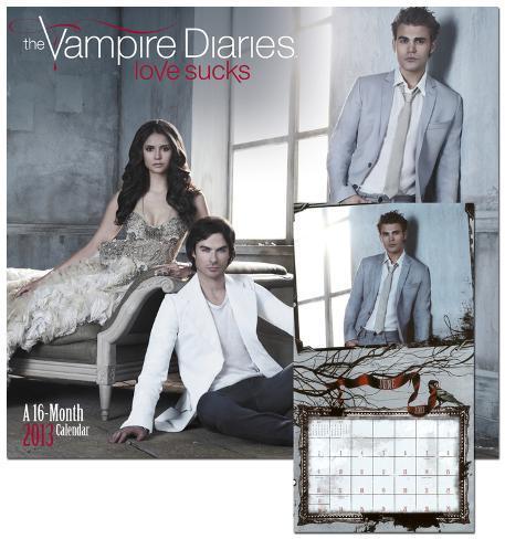The Vampire Diaries - 2013 Wall Calendar Calendars