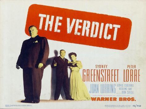 The Verdict, 1946 Art Print