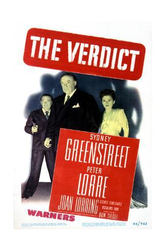 The Verdict - Movie Poster Reproduction Stampa artistica