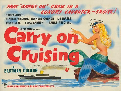 Carry on Cruising Giclee Print