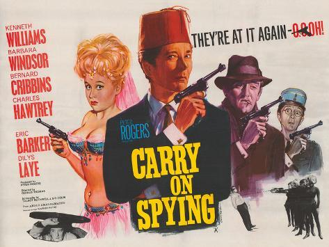 Carry on Spying Giclee Print