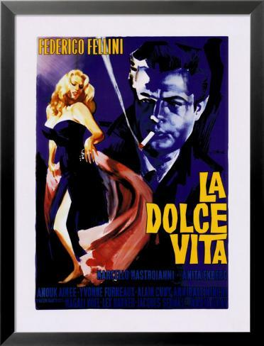 La Dolce Vita Lamina Framed Art Print