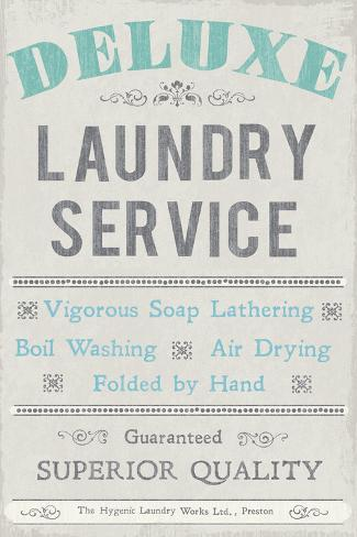 Laundry I Art Print