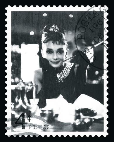Movie Stamp II Framed Art Print