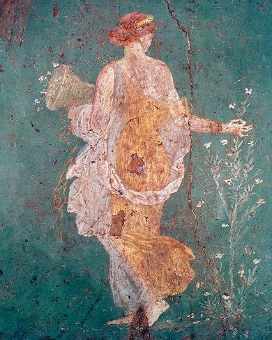 Pompeii Fresco II Giclee Print