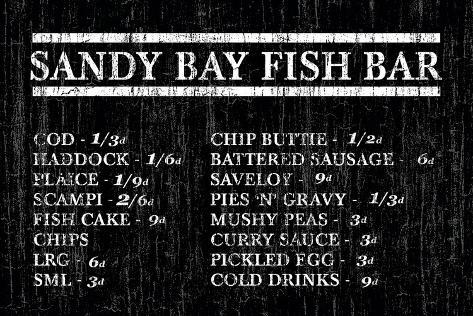 Sandy Bay Fish Bar Taidevedos