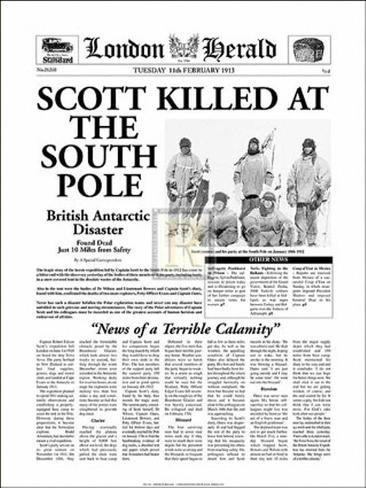 Scott Killed at the South Pole Art Print