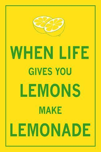 When Life Gives You Lemons Taidevedos