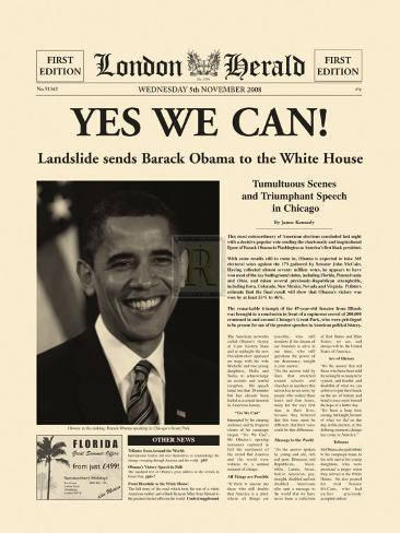 Yes We Can! Art Print