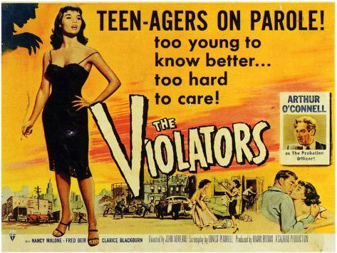 The Violators, 1957 Art Print