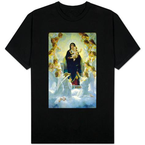 The Virgin With Angels T-Shirt