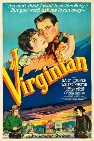 The Virginian, 1929 Giclee Print