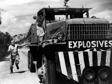 The Wages Of Fear, (aka Le Salaire De La Peur), Charles Vanel, Yves Montand, 1953 Foto