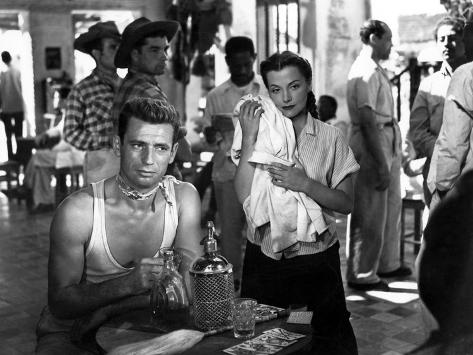 The Wages Of Fear, (AKA Le Salaire De La Peur), Yves Montand, Vera Clouzot, 1953 Foto