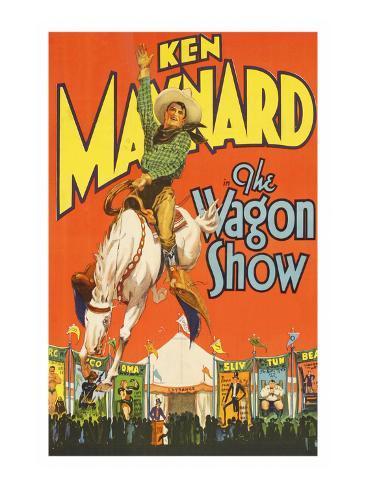 The Wagon Show Art Print