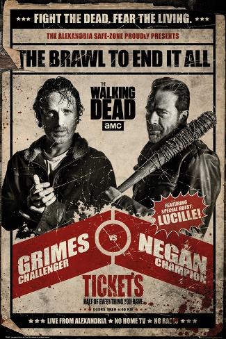 The Walking Dead- Brawl To End It All Promotion Poster