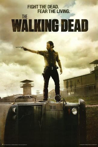 The Walking Dead - Jailhouse Poster