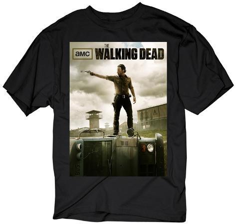 The Walking Dead- Rick Poster T-Shirt