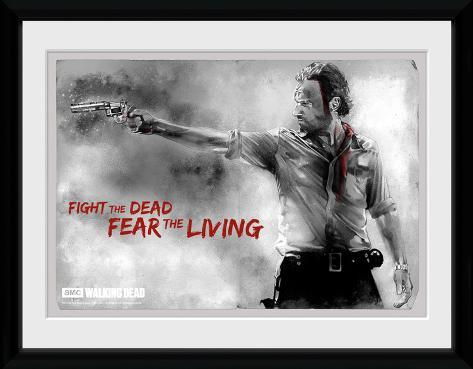 The Walking Dead- Rick Print Collector Print