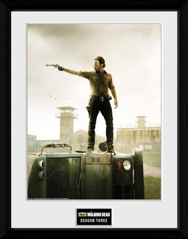 The Walking Dead- Season 3 Collector Print