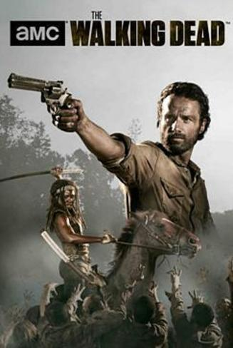 The Walking Dead Season 4 Rick and Michonne Poster