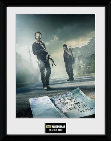The Walking Dead- Season 5 Collector Print