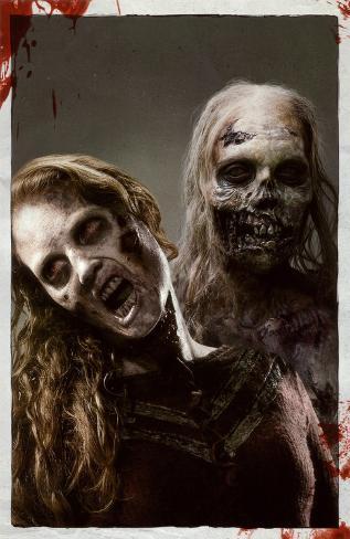 The Walking Dead - Zombies 1 Masterprint