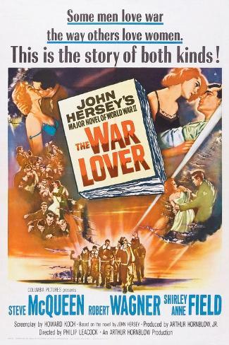 The War Lover, Top Right: Shirley Anne Field, Robert Wagner, 1962 Konstprint