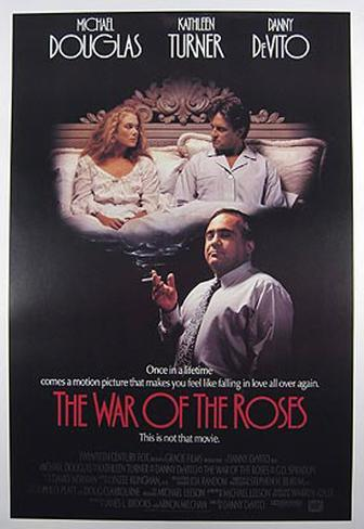 The War Of The Roses Poster