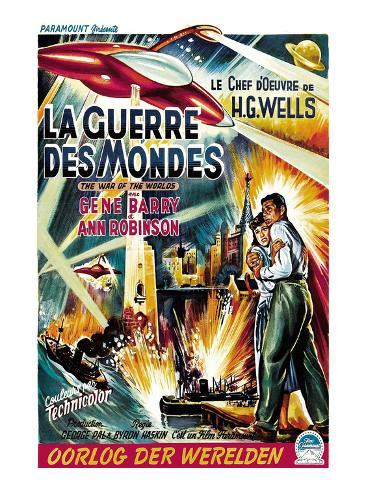 The War of the Worlds (AKA La Guerre Des Mondes), From Left, Ann Robinson, Gene Barry, 1953 写真