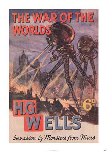 war of the worlds by h g Flash, a hundred yards nearer - hg wells, the war of the worlds but who shall  dwell in these worlds if they be inhabited    are we or.