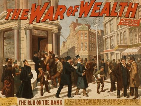 The War of Wealth Art Print