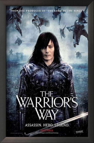The Warrior's Way Framed Art Print