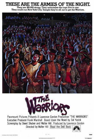 The Warriors Impressão em tela esticada