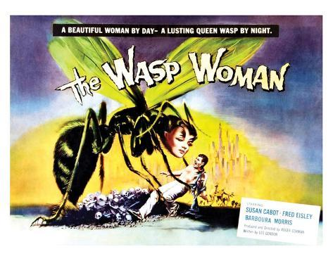 The Wasp Woman - 1959 Art Print