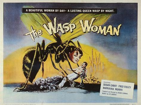The Wasp Woman, 1960 Art Print