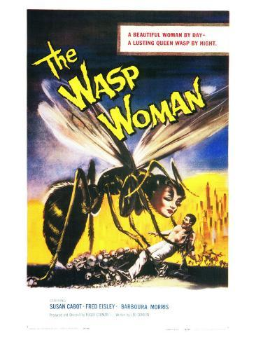 The Wasp Woman, 1960 Art Print