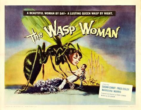 The Wasp Woman -  Style Poster