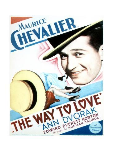 The Way to Love - Movie Poster Reproduction Premium Giclee Print
