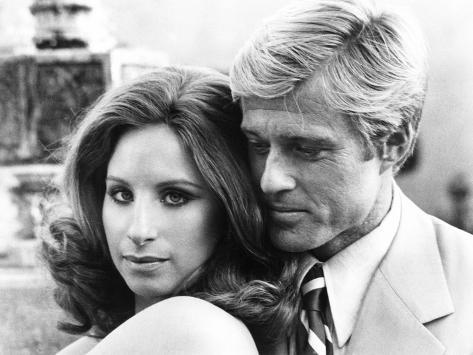 The Way We Were, Barbra Streisand, Robert Redford, 1973 Photo