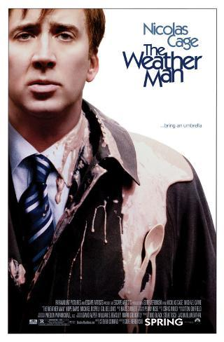 The Weather Man Double-sided poster