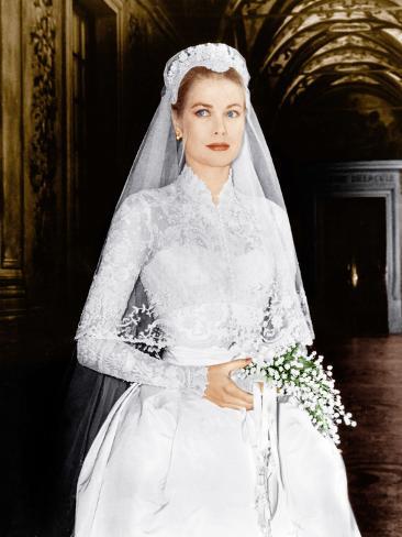 THE WEDDING IN MONACO, Grace Kelly, 1956 Foto