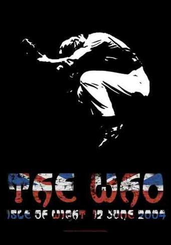 The Who - Isleof Wight Fabric Poster