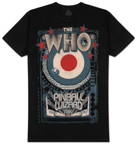 The Who - Pinball Wizard T-paita