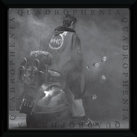 The Who - Quadrophenia Framed Album Art Collector Print
