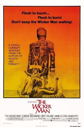The Wicker Man, Diane Cilento, Christopher Lee, Britt Ekland, 1973 Art Print