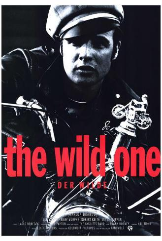 The Wild One - German Style Poster