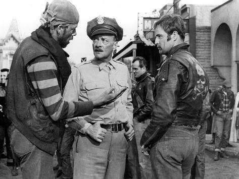 The Wild One, Lee Marvin, Robert Keith, Marlon Brando, 1954 Photo