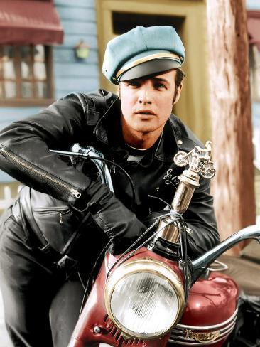 The Wild One, Marlon Brando, 1954 Foto